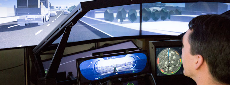 Here Driving Simulation